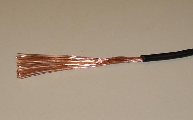 В клеммах многожильные провода просто плющит
